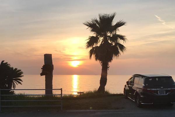 ca-koのウェブサイトです。四季折々の道草。心にとまった身近な草花を、小さな発見を楽しみながら出会った器に合わせています。糸島サンセットの景色。