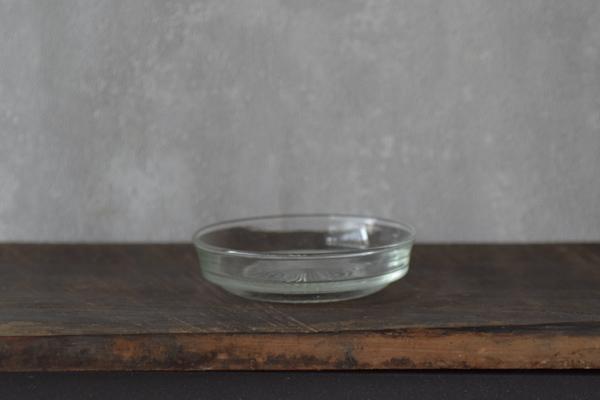 ガラス古皿