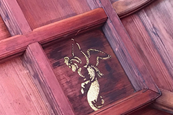 ca-koのウェブサイトです。佐賀の旅、武雄温泉楼門にて。